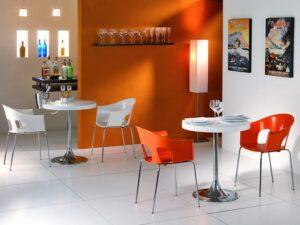 0076-6 Cafestuhl - Restaurant